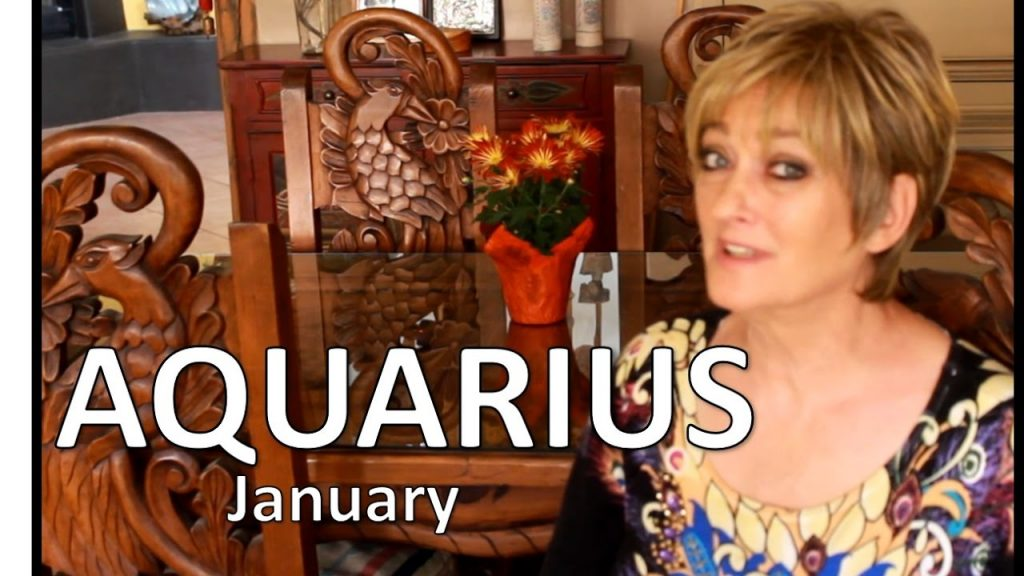 AQUARIUS January 2017 ASTROLOGY – HOROSCOPE – Awesome Start of Your Year!