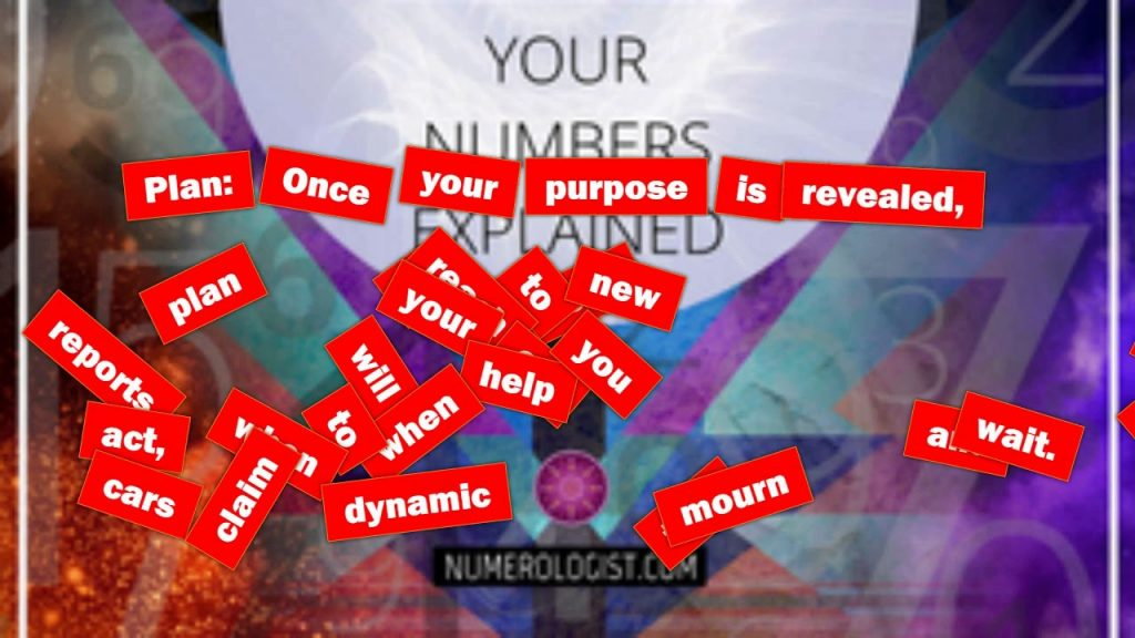 Deluxe Numerology Report 2017 Free