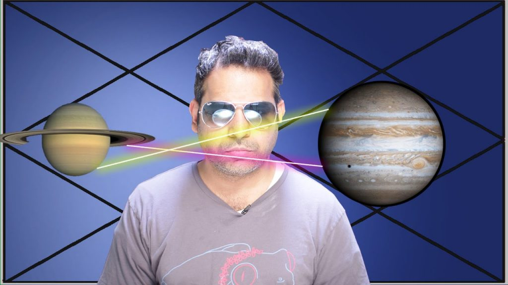 Jupiter and Saturn mutual aspect in Astrology